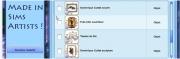 Des téléchargements sur Sims Artists