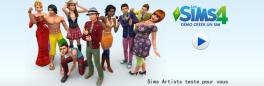 Sims Artists présente la démo du create a Sims des Sims 4 !