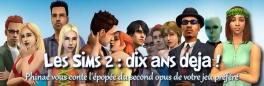 Les Sims 2 : Dix ans déjà !