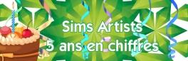 Sims Artists fête ses 5 ans, et 5 ans c'est ...