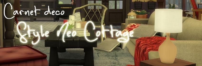 Carnet déco : le style Néo Cottage pour se réchauffer