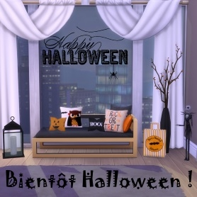 Carnet d�co: Bient�t Halloween !