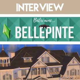 Interview de Bellepinte, Youtubeuse qui aime faire souffrir ses sims