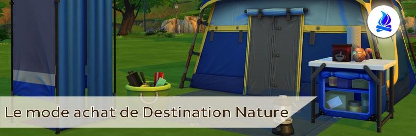 Le catalogue objet et construction de Destination Nature