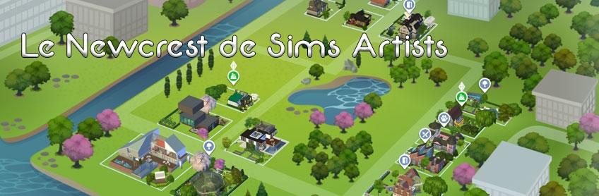 Le Newcrest de Sims Artists