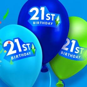 Les 21 cadeaux du 21ème anniversaire des Sims