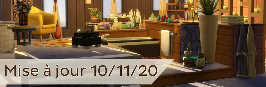 Les nouveautés de la mise à jour du 10 novembre 2020