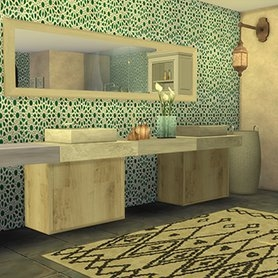Salle de bain Inspiration Marocaine