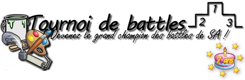 Joyeux anniversaire : Le tournoi de battles