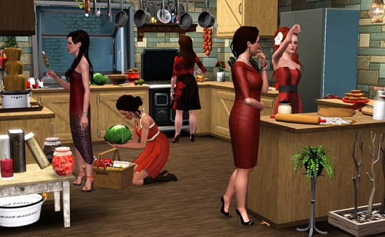 1 article joyeux noel sims artists equipe admins cuisine dinde
