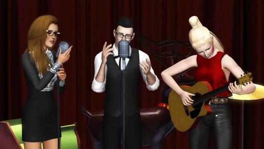 5  article joyeux noel sims artists equipe animateur musique noel