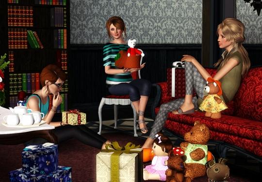 19 article joyeux noel sims artists equipe maitre du jeu prof cadeaux