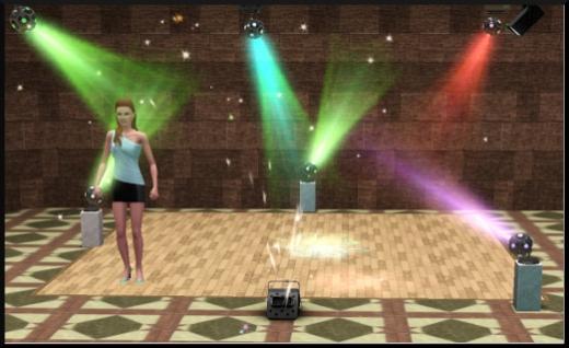 acces vip mode achat construction cas piste de danse bar gobomania stroboscope machine effet speciaux