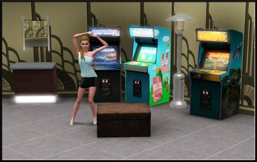 acces vip mode achat construction cas jeux arcade borne miroir