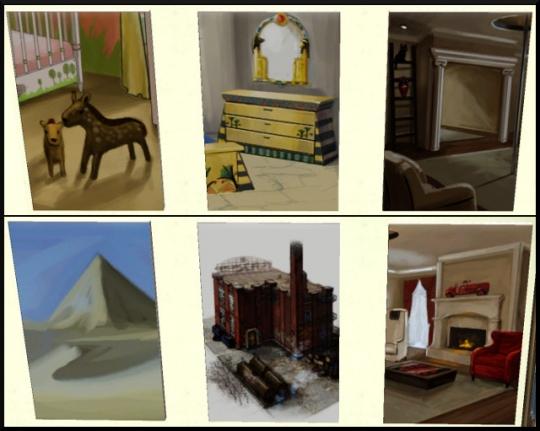 39 sims 3 ambition profession independante concepteur architecture table dessin toiles 1