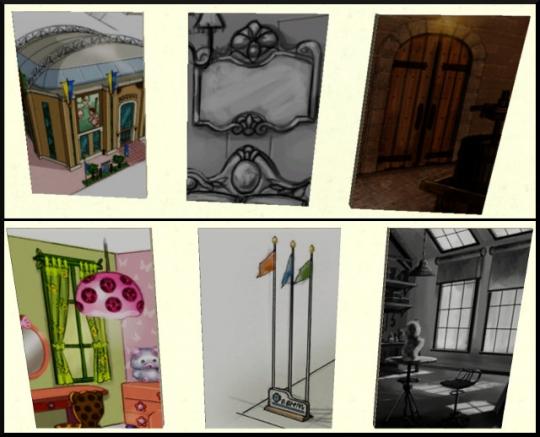 40 sims 3 ambition profession independante concepteur architecture table dessin toiles 2
