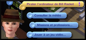 21 sims 3 ambition enqueteur interaction pirater ordinateur