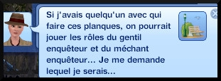 26 sims 3 ambition enqueteur message planque
