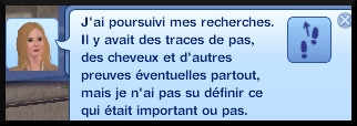 38 sims 3 ambition enqueteur message recherche indice loupe