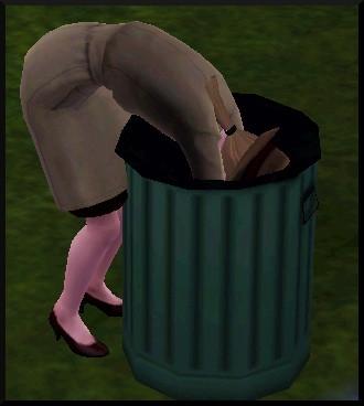 41 sims 3 ambition enqueteur fouiller poubelle action