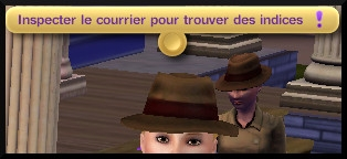 42 sims 3 ambition enqueteur interaction fouiller courrier