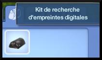 44 sims 3 ambition enqueteur kit recherche empreintes inventaire
