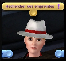 47 sims 3 ambition enqueteur interaction relever empreintes