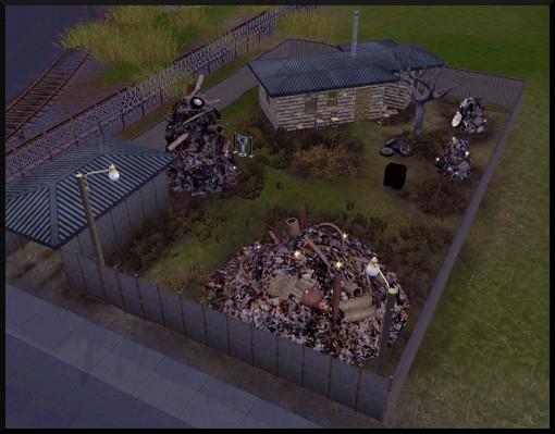 21 sims 3 ambition sculpture debris casse