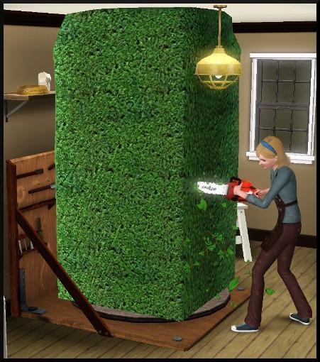 28 sims 3 ambition sculpture bloc topiaire