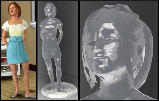 32 sims 3 ambition sculpture sim glace resultat