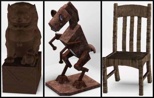 33 sims 3 ambition sculpture argile metal bois