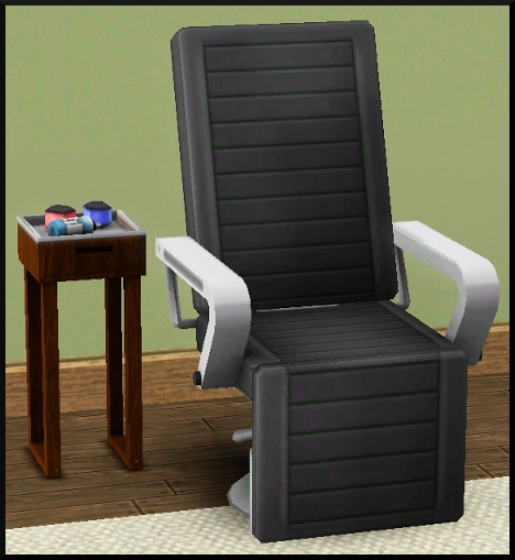 2 sims 3 ambition carriere styliste tatoueur chaise tatouage