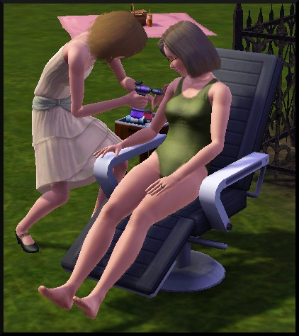 10 sims 3 ambition carriere styliste tatoueur bloup tattoue
