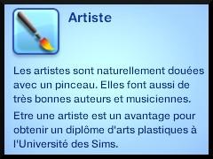 12 sims 3 ambition carriere styliste tatoueur trait caractere artiste