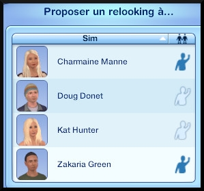 27 sims 3 ambition carriere styliste tatoueur proposer relooking a interaction