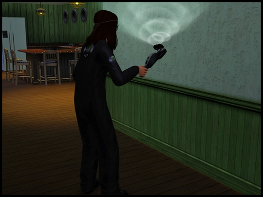 9 sims 3 ambition profession chasseur de fantomes scanner