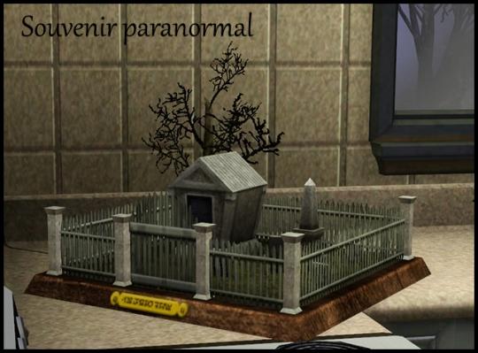 20 sims 3 ambition profession chasseur de fantomes souvenir paranormal