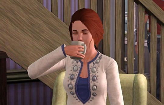 interview licorne fuyaya boit son café