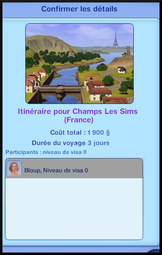 4 sims 3 destination aventure fabrication nectar voyage champ les sims france