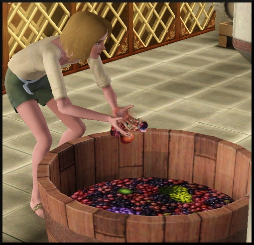 16 sims 3 destination aventure fabrication nectar machine nectar action ajouter fruit