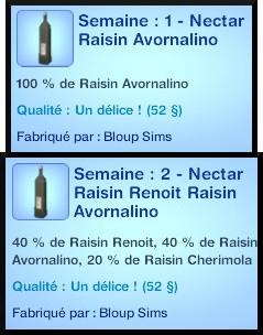 30 sims 3 destination aventure fabrication nectar bonification bouteille vieillir