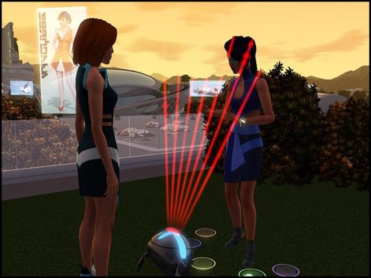 en route vers le futur rythmo laser jouer une sérénade