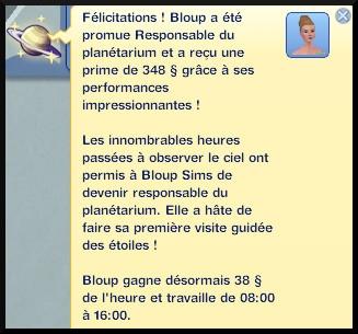 11 sims 3 en route vers le futur carriere astronome responsable du planetarium