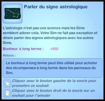 14 sims 3 en route vers le futur carriere astronome parler du signe astrologique