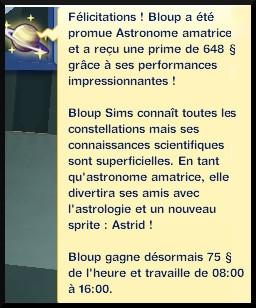 15 sims 3 en route vers le futur carriere astronome astronome amatrice