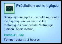 26 sims 3 en route vers le futur carriere astronome prediction astrologique