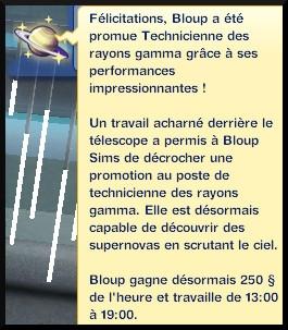 43 sims 3 en route vers le futur carriere astronome technicien des rayons gammas