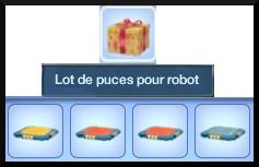 21 sims 3 en route vers le futur nouveautes lot puces de caractere plumbot inventaire