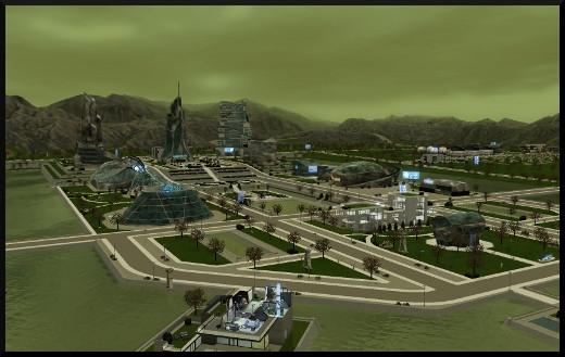 32 sims 3 en route vers le futur nouveautes oasis landing futur dystopique