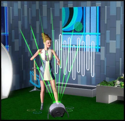 36 sims 3 en route vers le futur nouveautes competence rythmo laser